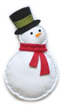 Plush Bundled Snowman (99305)