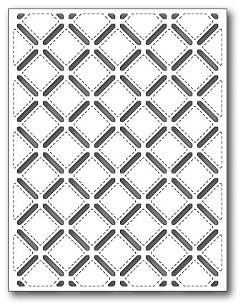 Stitched Lattice Background dIE (99314)