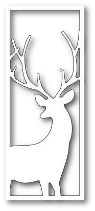 99604 Graceful Stag Collage craft die