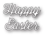 Happy Easter Perky Script craft die (99628)