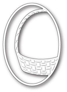 Gift Basket Oval craft die ( 99649)