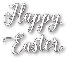 Happy Easter Journal Script craft die (99660 )
