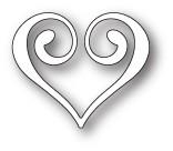 Clip Heart craft die (99671)