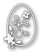Springtime Floral Egg craft die (99680)
