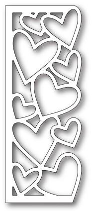 Oodles of Hearts Panel craft die (99682)