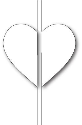 Heart Closer craft die (99705)