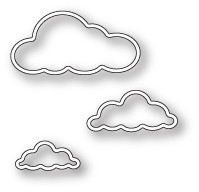 Memory Box Outline Cloud Trio (99716)