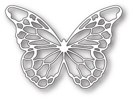 Memory Box Chantilly Butterfly (99777)