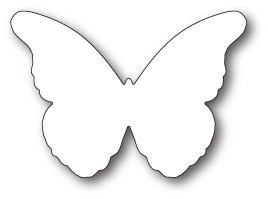 Memory Box Chantilly Butterfly Background Die (99783)