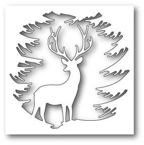 Memory Box Evergreen Reindeer craft die 99787