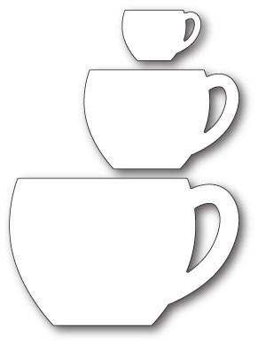 Memory Box Cozy Mugs craft die 99788