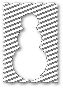 Memory Box Snowman Panel craft die 99791