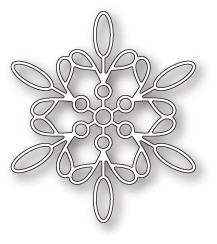 Memory Box Purslane Snowflake craft die 99796
