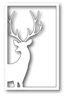 Memory Box Reindeer Window craft die 99797