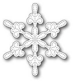 Memory Box Chancery Snowflake Outline craft die 99802