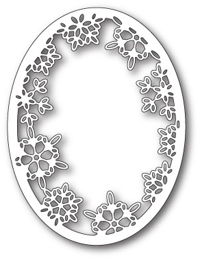 Memory Box Batavia Snowflake Oval craft die 99816