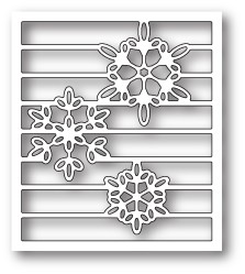 Memory Box Snowy Spectrum craft die 99821