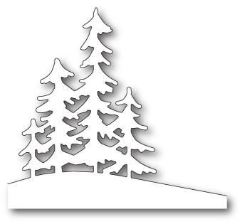 Memory Box Alpine Trees craft die 99829