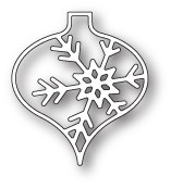 Memory Box Piccolo Snowflake Ornament craft die 99830