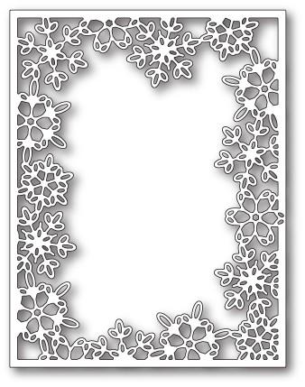 Memory Box Silent Snowflake Frame craft die 99854
