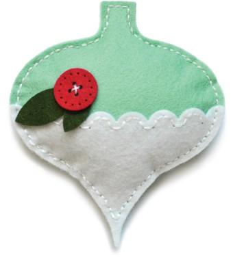Memory Box Plush Gift Ornament craft die 99861