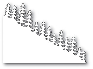 Memory Box Evergreen Hillside Slope craft die 99888