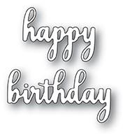 Sentimental Happy Birthday die 99926
