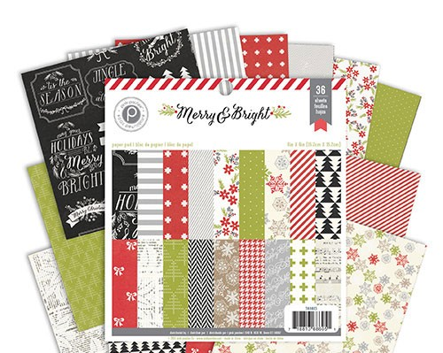 Merry and Bright 6x6 Paper Pack