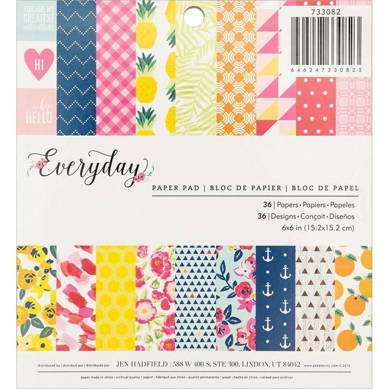 Everyday 6x6 Paper Pad