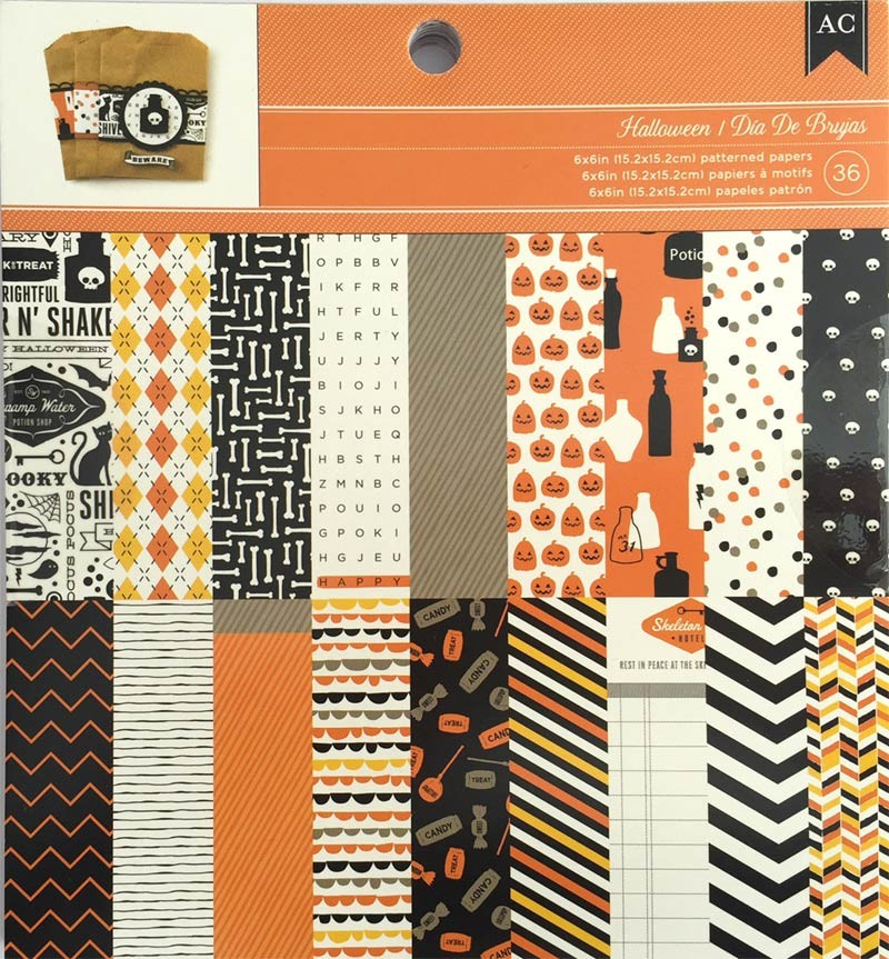 American Crafts' Halloween Paper Pack