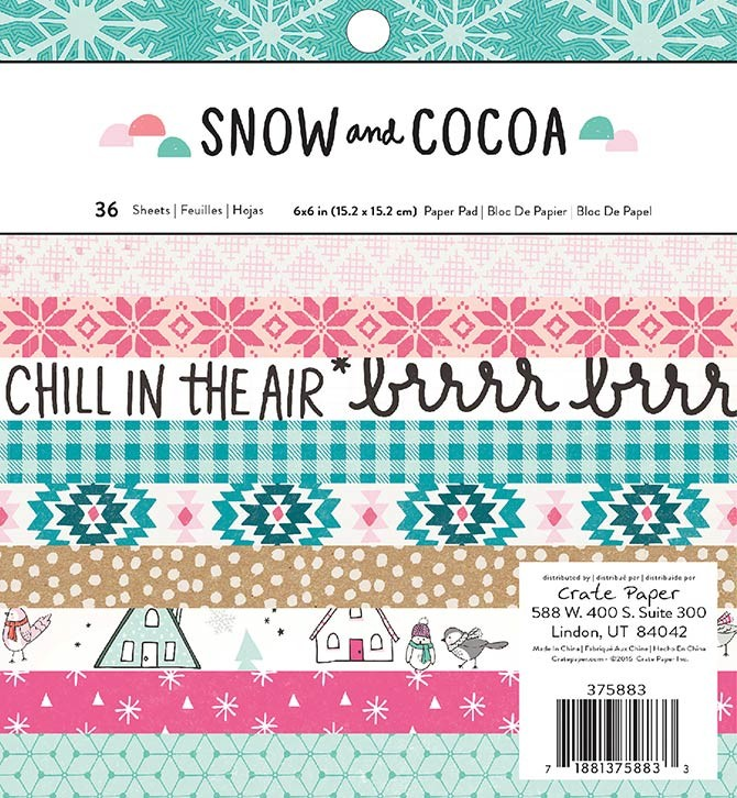 Snow and Cocoa Paper Pad