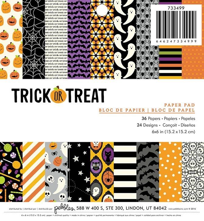 Trick or Treat Paper Pad