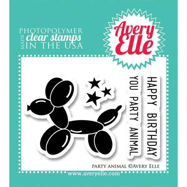 Party Animal Stamp Set (AE)
