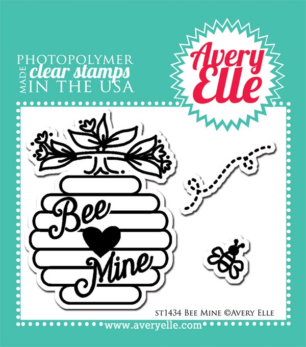 Avery Elle Bee Mine Clear Stamp Set