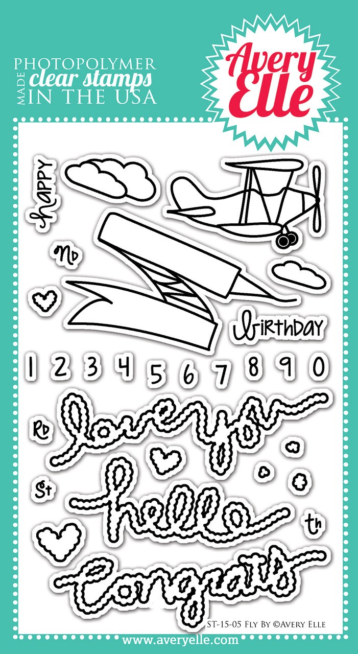 avery ellefly by clear stamps