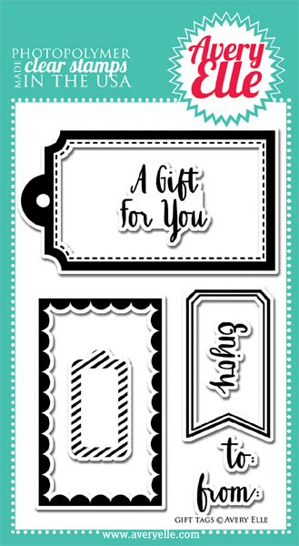 Avery Elle Gift Tag Stamps