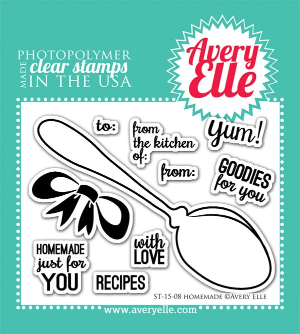 avery elle homemade clear stamps