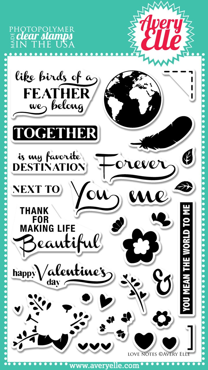 Love Notes Clear Stamps (AE)