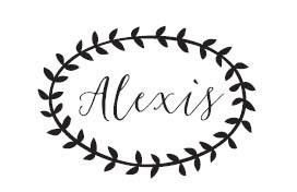Alexis Custom Stamp