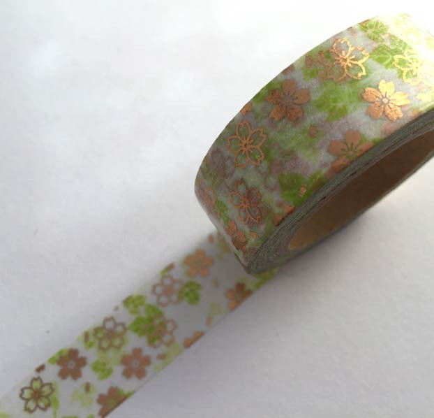 Asian Floral Washi Tape