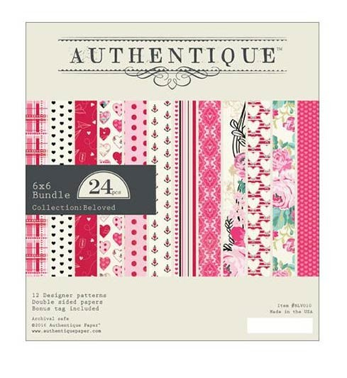 Authentique Beloved 6x6 Paper Pack