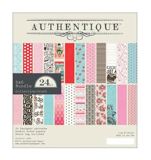 Authentique Crush 6x6 Paper Pack