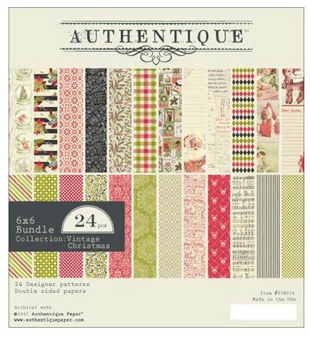 Authentique Vintage Christmas Paper Pack