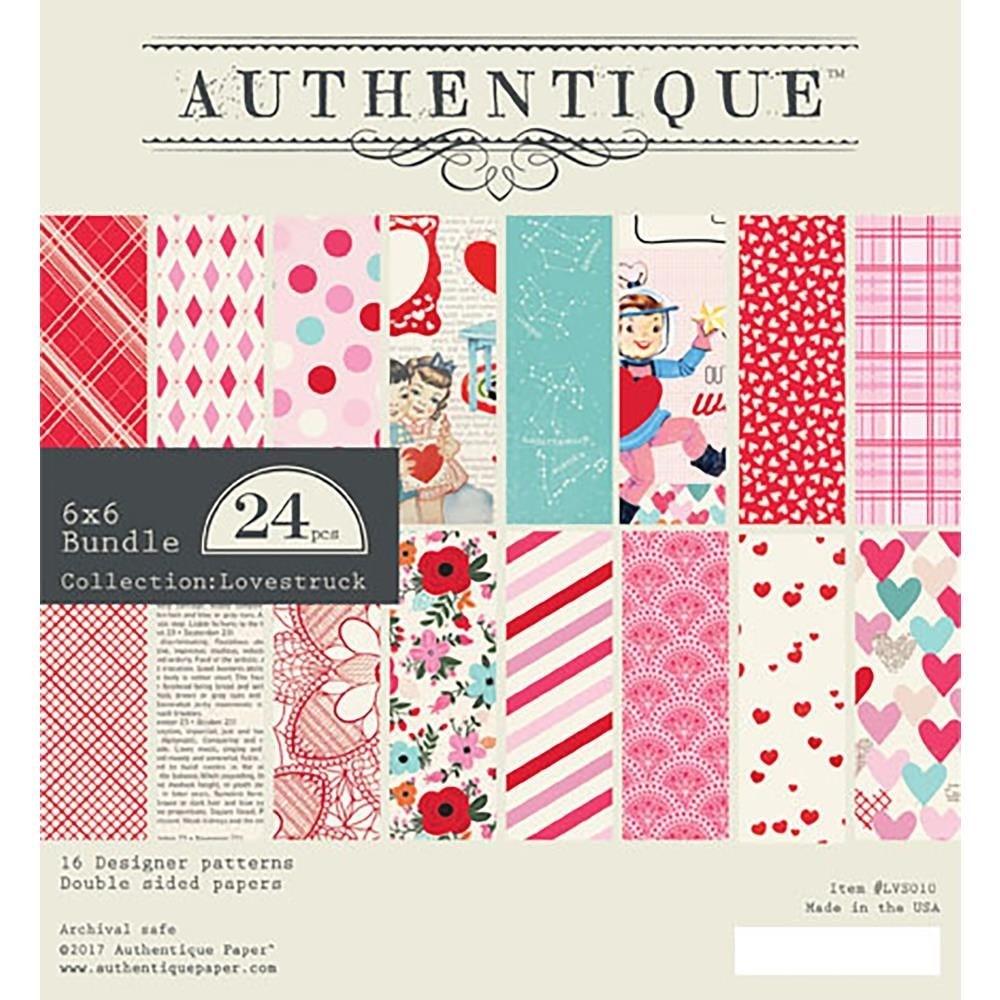 Authentique Lovestruck 6x6 paper pack