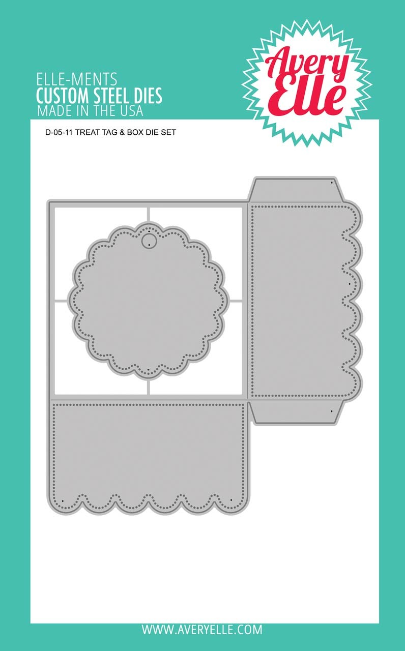 Avery Elle Treat Tag & Box Dies