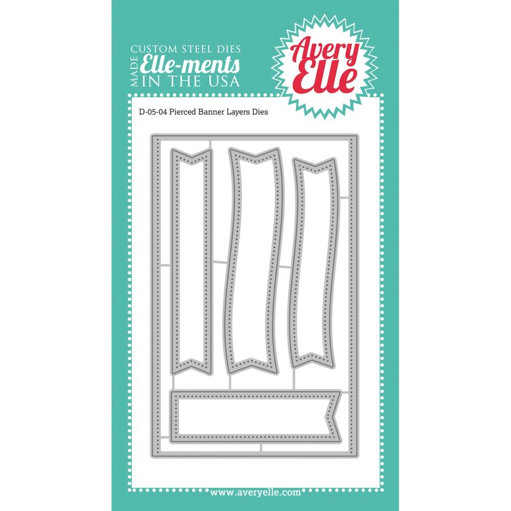 Avery Elle Pierced Banner Layers