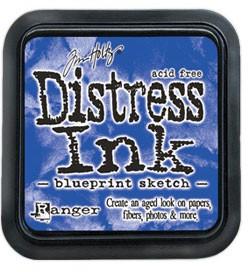 Blueprint Sketch Distress Pad