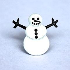 Snowman Brads