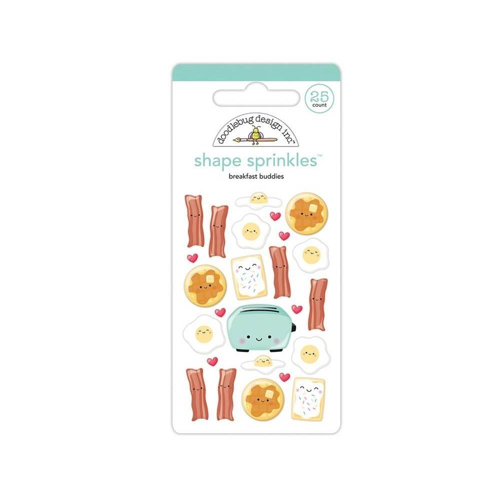 Doodlebug Breakfast Buddies Stickers