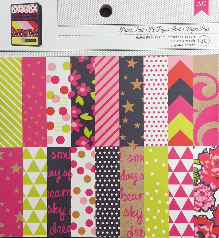 New Bright Paper Pack